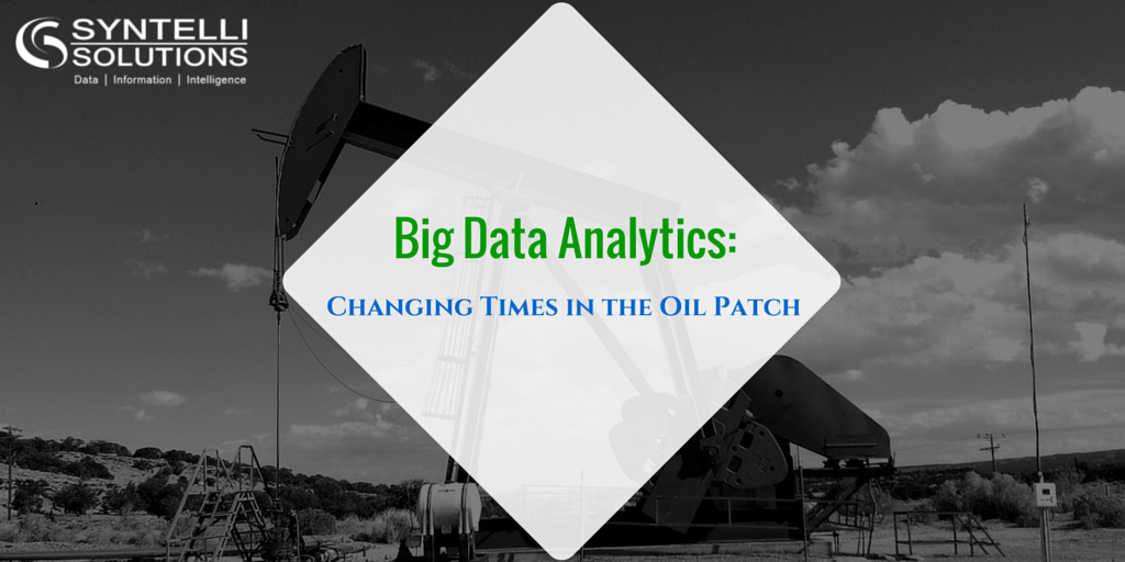 Big Data Analytics- Changing Times in