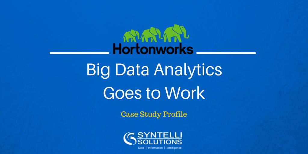 Big Data Analytics Goes to Work: Hortonworks