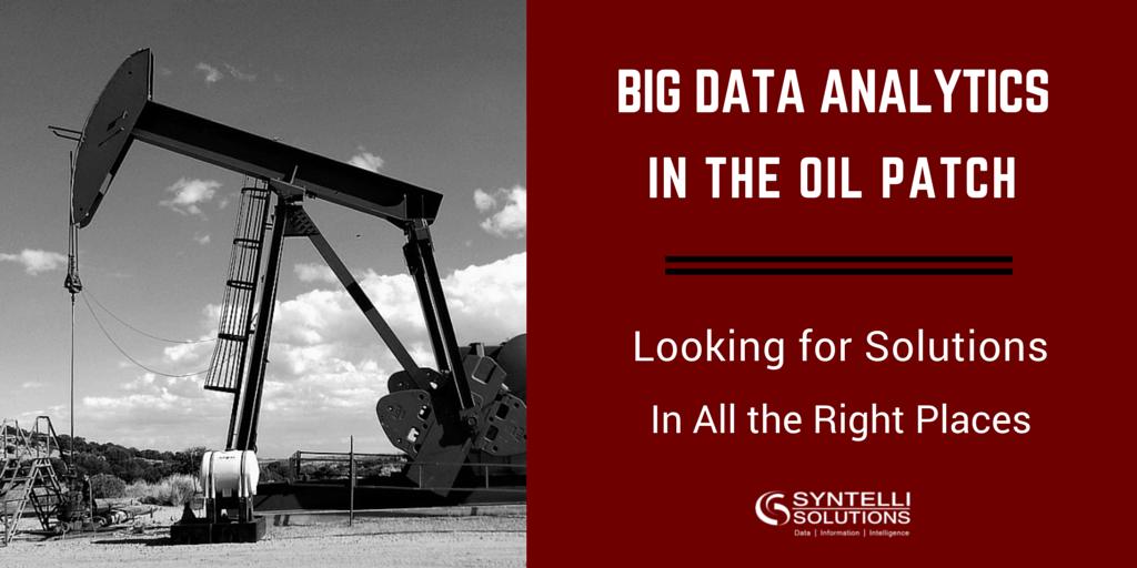 Oilfield Big Data Analytics
