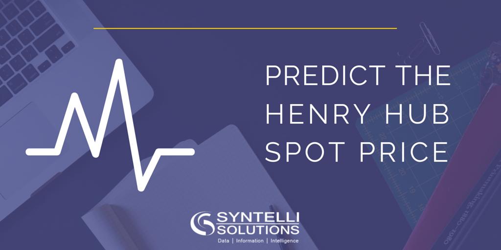 Predict the Henry Hub spot price