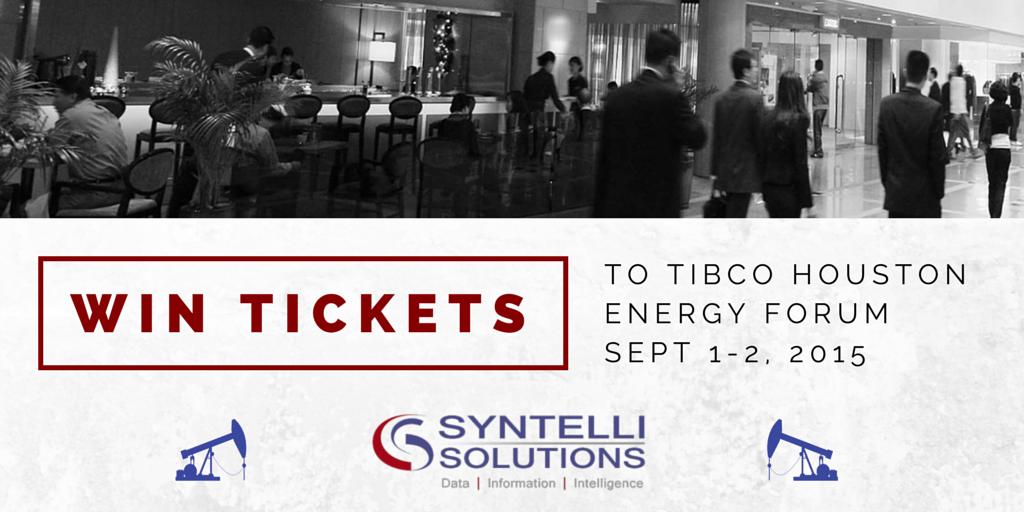 TIBCO Houston Energy Forum - Win Tickets