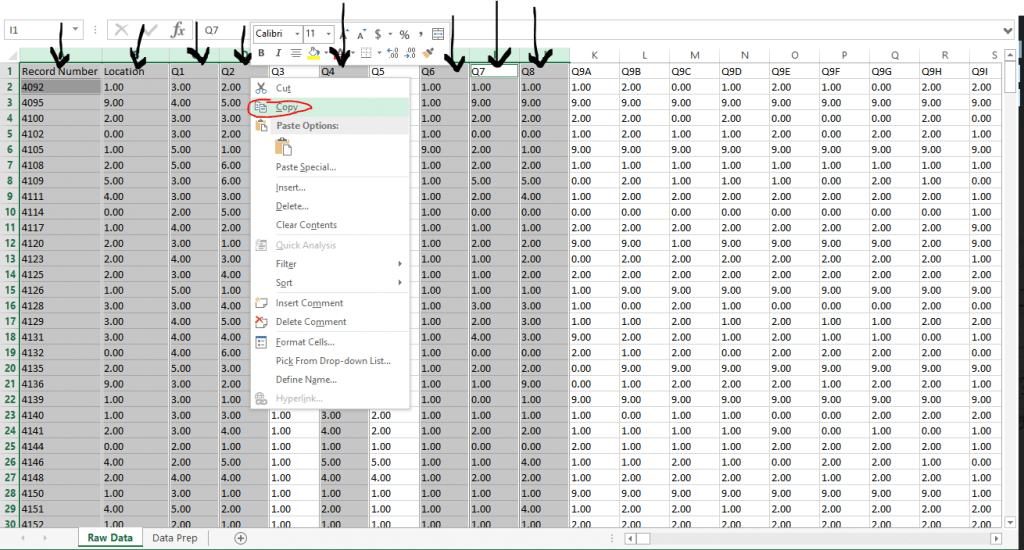 Reshaping Data for Tableau