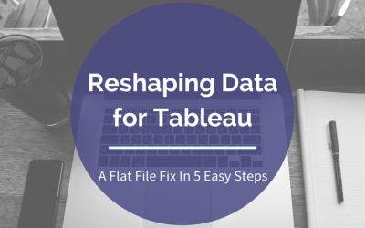 Reshaping Data For Tableau Optimization