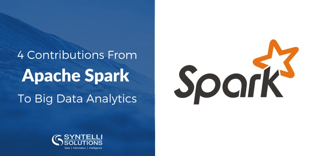 Apache Spark Contributes to Big Data Analytics