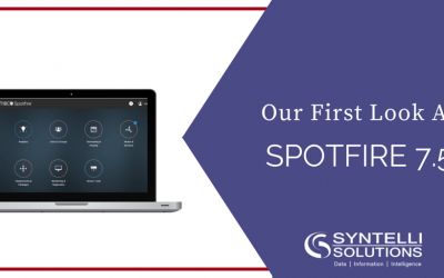 Our First Look At Spotfire 7.5