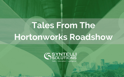 Tales from the Hortonworks Roadshow