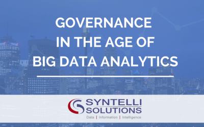 Governance in the Age of Big Data Analytics
