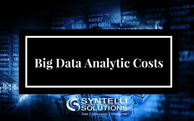 What You Need to Know About Big Data Analytics Costs