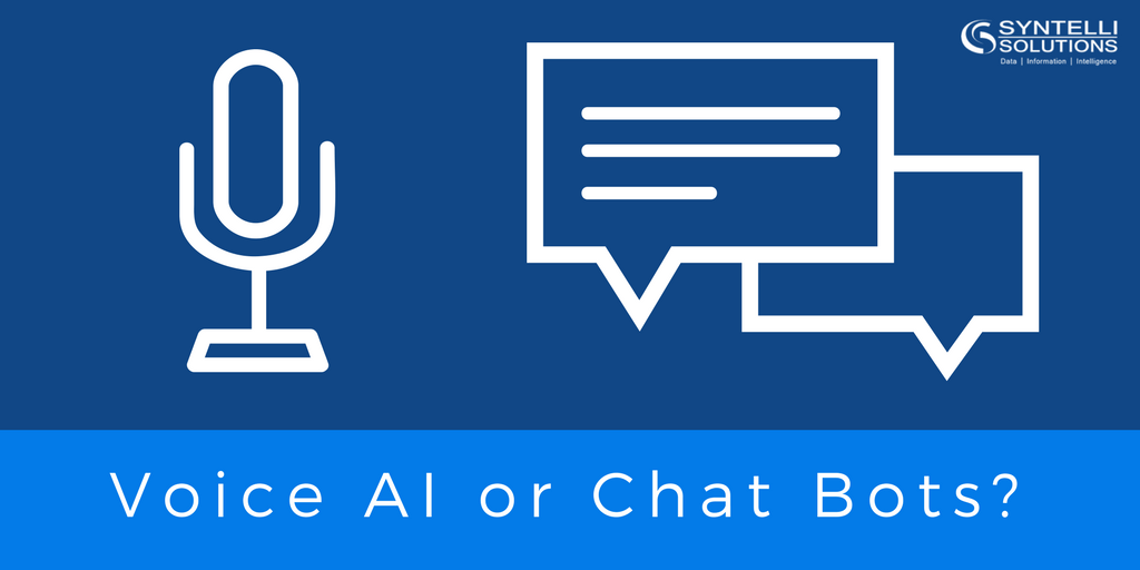 AI Voice or Chat Bots?