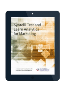 learn analytics for marketing syntelli solutions inc