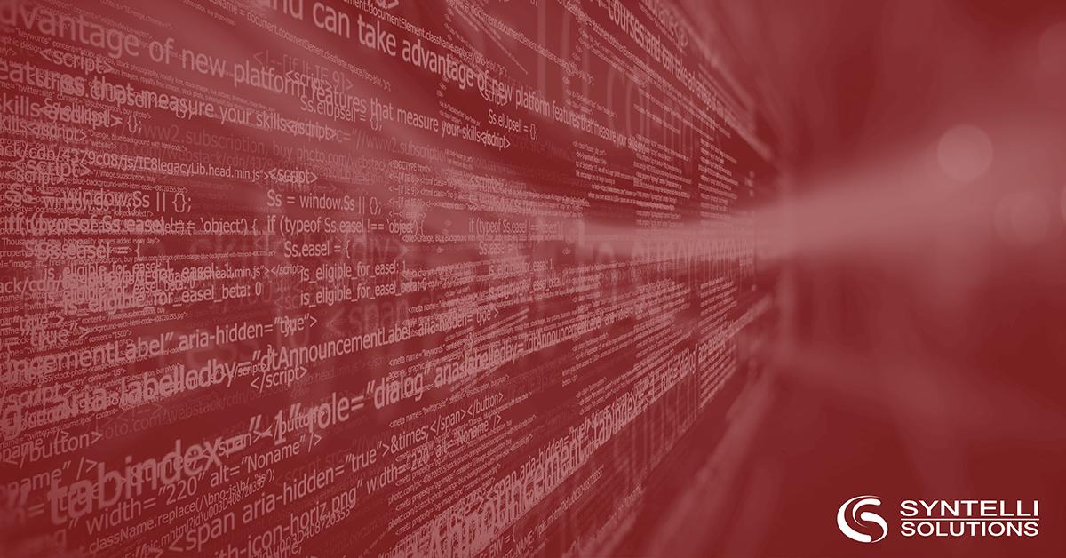 open source big data syntelli solutions inc